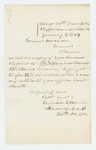 1864-01-04  Lieutenant William W. Morrell requests a copy of the annual report be sent to Paschal Morrell