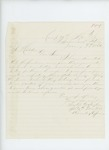 1864-01-09  Captain Prentiss Fogler, Recruiting Officer, writes regarding re-enlistments, furloughs, and state bounties