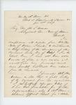1864-01-21  Major Ellis Spear forwards the brief history of the regiment since December 1862