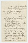 1864-01-21  Major Ellis Spear makes recommendations for promotions