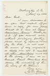 1864-01-27  Charles Gilmore requests a copy of the annual report