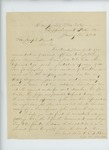1864-01-30  Samuel Keene recommends Sergeant H. Long for a commission