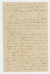 1864-02-08  Charles Clement requests a copy of his descriptive list