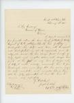1864-02-10  Captain Joseph B. Fitch recommends promotion of Joseph Walker, Jr., Orderly Sergeant