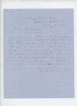 1864-02-12   Captain Samuel Keene recommends Lieutenant William W. Morrell for promotion