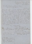 1864-02-18  Ellis Spear and other officers recommend Sergeant George H. Wood for commission in a new regiment