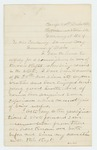 1864-02-19  Henry C. Preble applies for a commission in one of the new regiments being raised