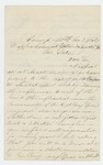 1864-03-03  Joseph Linscott requests a transfer to the Navy