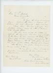 1864-03-04  Lieutenant Addison W. Lewis recommends LaForest P. True for promotion