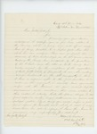 1864-03-05  Lieutenant Mattson C. Sanborn writes to Honorable Jonathan M. Burleigh to request a promotion