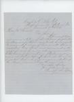 1864-03-06  Prentiss Fogler recommends Lieutenant Morse for promotion