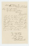 1864-03-19  Major Ellis Spear writes to John Hodsdon regarding petitions for promotions