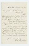 1864-03-28  Reverend B. M. Mitchell accepts commission as chaplain