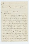 1864-04-16  Edward Faunce requests help for his family