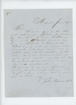 1864-06-29  Dr. John Benson inquires about the condition of Private Orrin C. Stedman