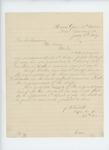 1864-07-05  Joseph Fitch recommends Sergeant Joseph Walker, Jr. for promotion to Lieutenant