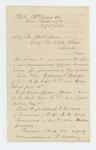 1864-07-06  Major Ellis Spear recommends promotions