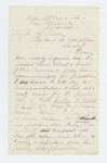 1864-07-10  Major Ellis Spear recommends Walter Morrill of Company B for promotion