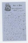 1864-07-16  Representative John Osgood recommends promotion of Sergeant Joseph Walker