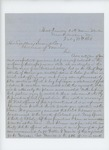 1864-07-18  Captain Joseph B. Fitch writes Governor Cony regarding promotions of Gilmore, Spear, and Morrill
