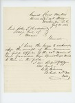1864-07-18  Lt. Colonel Gilmore acknowledges receipt of three commissions