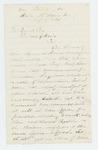 1864-07-27  Ellis Spear recommends Sergeant Daniel Keene for promotion