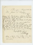 1864-08-12  N.H. Bragg inquires about bounty for George Richardson
