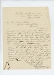 1864-09-17  Major Ellis Spear inquires about recruiting