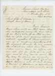 1864-09-28  Charles Gilmore requests that Joseph Land and Holman Melcher be placed as recruiting officers as they are not fit for field service