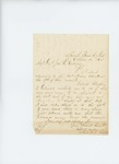 1864-10-11  Mattson Sanborn writes regarding his return to the regiment
