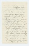 1864-10-14  Colonel H.G. Thomas recommends Ellis Spear for promotion