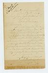 1864-10-30  Captain J.F. Land regarding recruitments and his return to the regiment