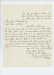 1864-11-10  Lieutenant Colonel Charles Gilmore requests the regiment be filled