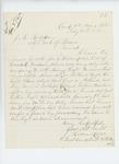 1865-02-18  Lieutenant Hiram Morse requests the descriptive list for David L. Goodwin