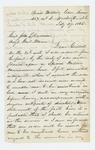 1865-02-27  Charles Gilmore writes Adjutant General Hodsdon regarding his discharge