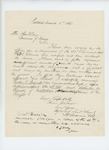 1865-03-06  Ellis Spear recommends Walter Morrill and Atherton W. Clark for promotion
