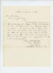 1865-03-18  Brevet Lt. Colonel Ellis Spear recommends George Furbish for promotion