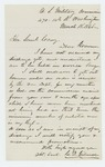 1865-03-18  Charles Gilmore inquires about his discharge from service