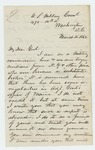 1865-03-18   Charles Gilmore writes about his participation in the trials of substitute brokers