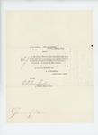 1865-03-25  Special Order 145 honorably discharging Lieutenant D.M. Overlock