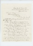 1865-04-25  Lieutenant Colonel Walter G. Morrill recommends promotions