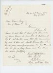 1865-05-19  Colonel Gilmore recommends Lieutenant J. Stanwood be promoted to Captain