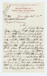 1865-05-22  William Hobbs, Jr. inquires about state bounty for Barbara Reed, widow of Peter Reed