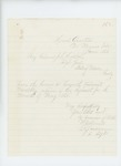 1865-06-01  Lieutenant Colonel Walter Morrill sends May 1865 monthly return