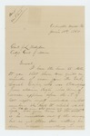 1865-06-10  E.S. Coan of the Signal Corps requests discharge