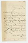 1865-06-10  Adjutant Thomas M. Vincent requests investigation into reported neglect of duty by officers, and encouragement of mutiny by Captain Fernald