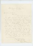 1865-06-15  Colonel Ellis Spear invites William Rounds to be 1st Lieutenant