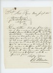 1865-07-31  B.F. Winslow requests evidence of the death of Sergeant James A. Horton