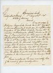 1865-08-01  J.W. Holmes, Adjutant 27th Massachusetts Volunteers, requests information on behalf of William Bryer