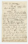 1865-09-07  A.K.P Meserve inquires about state aid for William Spencer of Buxton